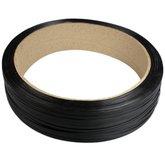 Rolo de Fita Plástica Preta para Arquear 13 x 0,7 mm para Embalagem 5Kg - VONDER-10.15.130.600