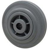 Roda de Borracha Cinza de 8 Pol. - MARCON-RM-124