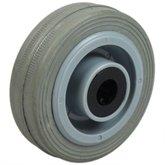 Roda de Borracha Cinza de 3 Pol. - MARCON-RM-120