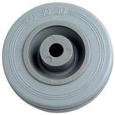 Roda de Borracha Cinza de 4 Pol. - MARCON-RM-121