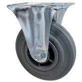 Rodízio Cinza Fixo de 8 Pol. com Núcleo em PVC - MARCON-RM-129