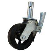 Rodízio para Andaime com Roda de Borracha de 6 Pol. - EMIT-EM-A-RB6