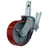 Rodízio para Andaime com Roda de Poliuretano de 6 Pol. - EMIT-EM-A-RP6