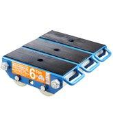 Tartaruga Traseira para Movimentação de Cargas para 6 Toneladas  - BOVENAU-T6000