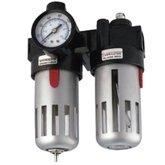 Filtro Regulador e Lubrificador de Ar e Óleo com Encaixe 1/2 Pol. - POTENTE BRASIL-PNW120003