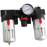 Filtro de Ar, Regulador e Lubrificador para Compressor 1/4 Pol. - BLACK JACK-GPV09