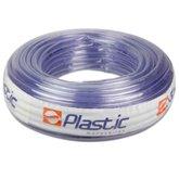Rolo de Mangueira em PVC Cristal 3/4 Pol. x 2,5mm com 50 Metros  - PLASTIC MANGUEIRAS-CI25C5