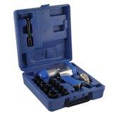 Parafusadeira de Impacto Pneumática 1/2 Pol. com Kit de Soquetes - LOYAL-RP7808