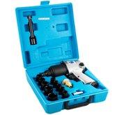 Chave de Impacto 1/2 Pol com Kit de Soquetes - BREMEN-3316
