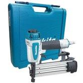 Pinador Pneumático 15 à 50 mm para 100 Peças com Maleta - MAKITA-AF505N