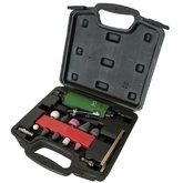 Kit Mini Retífica Pneumática de 1/4 Pol. com 16 Peças e Maleta  - POTENTE BRASIL-PNW140210