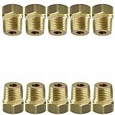Bucha de Redução Macho 1/2 Pol. com 10 Unidades - SCHWEERS-SCH-BR-1214KIT