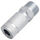Engate Rápido 1/2 x 1/4 Pol. com Rosca Macho para Ar Comprimido - VONDER-5114314121