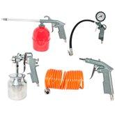 Kit de Acessórios para Compressor com 5 Peças - NOLL-3550001