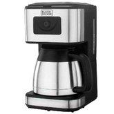 Cafeteira Elétrica 1000W  para até 23 Cafés com Jarra de Inox - BLACK+DECKER-CMX