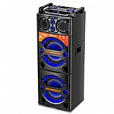 Caixa Amplificada Multiuso com Karaokê e Bluetooth 750W Bivolt - LENOXX-CA3600
