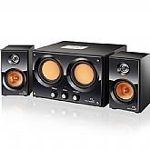 MP3 Double Bass 2.2 - 30W RMS Bivolt - MULTILASER-SP-118