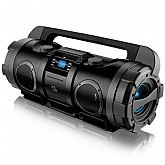 Bazooka Double Subwoofer Boombox 80W RMS - MULTILASER-SP163