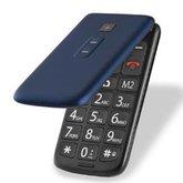 Celular Flip Vita Dual Chip 2,4 Pol. MP3 Azul com Câmera - MULTILASER-P9020