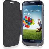 Power Case com Bateria de 3200 mAh Preto para Samsung Galaxy S IV - MULTILASER-BO350