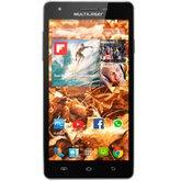 Smartphone Colors 5,5 Pol. MS6 Preto com Android 4.4 com Processador Quad Core 1,3Ghz - MULTILASER-P3312