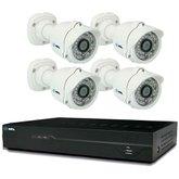 Kit de Monitoramento com 4 Câmeras CFTV HD de 1TB DVR de 8 Canais - HDL-900201072
