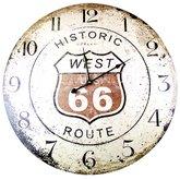 Relógio de Parede Decorativo Analógico Historic Route - VETRO-613804