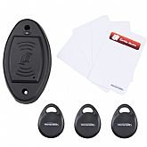 Kit Acionador de Fechadura Elétrica para Controle de Acesso - PROTECTION-PT-900