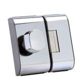 Fechadura para Porta de Vidro PV-90 1F Cromada  - HDL-900103004