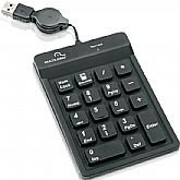 Teclado Numérico para Notebook Preto USB - MULTILASER-TC096