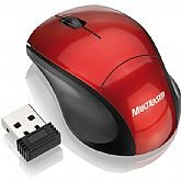 Mouse Fit Wireless - Vermelho - MULTILASER-MO150