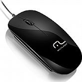 Mouse Slim Preto Piano - MULTILASER-MO166