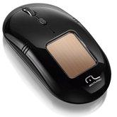 Mouse Solar sem Fio 2.4ghz com Sensor Laser Preto - MULTILASER-MO199