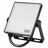 Refletor Led 1600 Lúmens 20W 6500K Luz Branca Bivolt - BLACK+DECKER-BDR1-1600-01