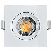 Spot Led Quadrado 500 Lúmens 7W 6500K Luz Branca para Embutir - BLACK+DECKER-BDS1-0500-04