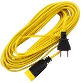 Cordão Prolongador Amarelo Hard Work PP 2x1,0mm x 15m - DANEVA-002410015.06A