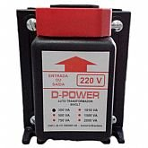 Auto Transformador Bivolt 300VA - D-POWER-AT300