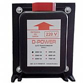Auto Transformador Bivolt 3000VA - D-POWER-AT3000