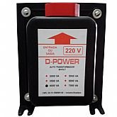 Auto Transformador Bivolt 4000VA - D-POWER-AT4000