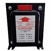 Auto Transformador Bivolt 5000VA - D-POWER-AT5000