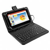 Tablet Preto Quad Core Android 4.4 M7S com Teclado + Case - MULTILASER-NB196