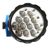 Lanterna de Cabeça Recarregável de 12 Leds  - CAZARINI-CA3000