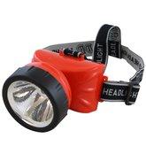 Lanterna Recarregável de Cabeça com 1 Led - CAZARINI-LED-722A