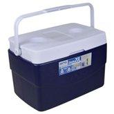 Caixa Térmica Glacial 20 Litros Azul com Alça - MOR-25108101