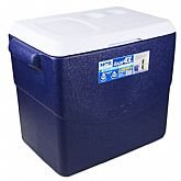 Caixa Térmica Glacial 40 Litros Azul - MOR-25108121