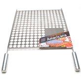 Grelha Americana 45 x 50cm em Aço Inox para Churrasqueira - SELMETAL-GAM4550
