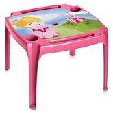 Mesa Infantil Rosa com Label - ARQPLAST-25238