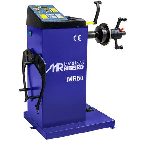 balanceadora manual de rodas 10 a 24 pol. azul