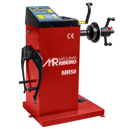 balanceadora manual de rodas 10 a 24 pol. vermelho