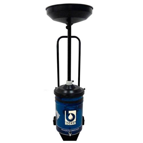 coletor de óleo de 24 litros com carrinho